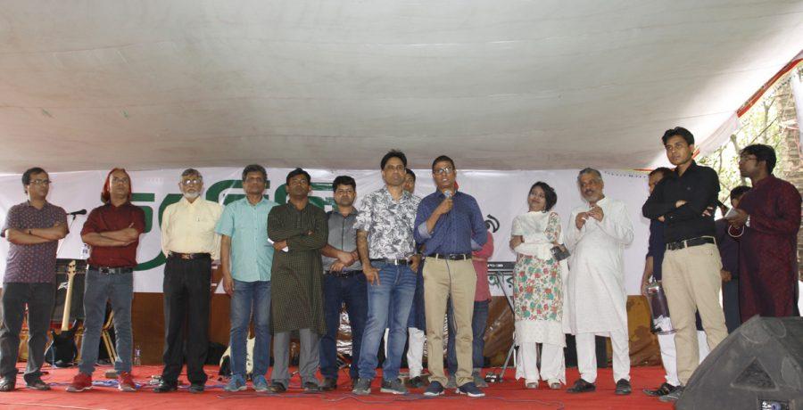 গত মার্চ মাসে গাজীপুরের পূবাইল রিসোর্ট ক্লাবে ইআরএফ ফ্যামিলি ডে'র খন্ডচিত্র